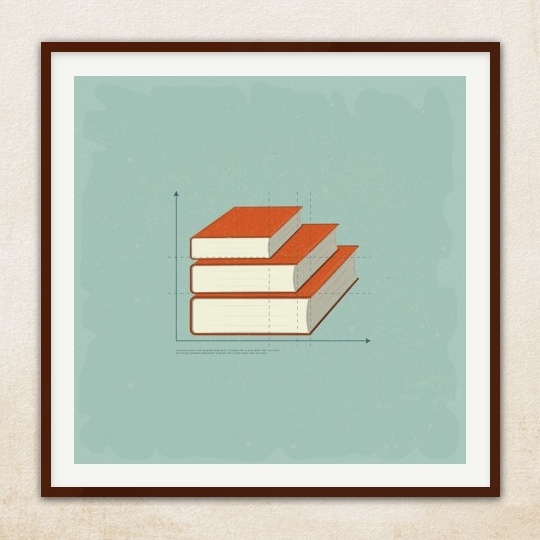 Vintage-book-infographic